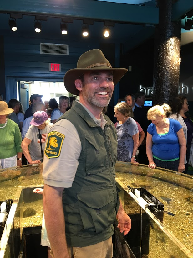 Ranger Russ at Meigs Point Nature Center - Hammonasset