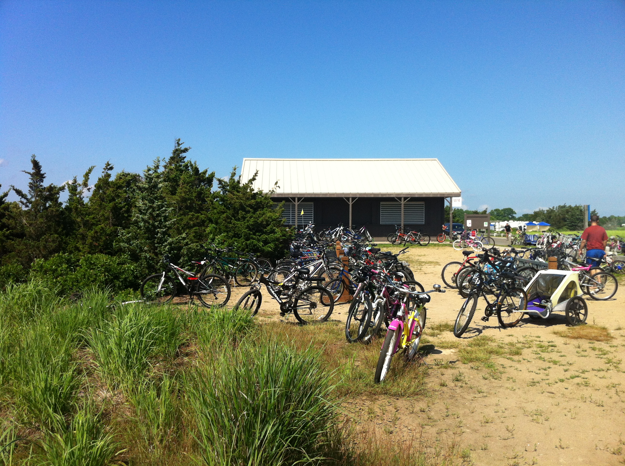 Bikes at Hammonasset